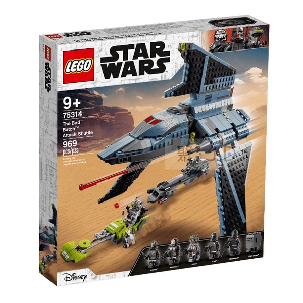 75314【LEGO 樂高積木】Star Wars 星際大戰系列 - Bad Batch攻擊穿梭機
