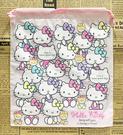 【震撼精品百貨】Hello Kitty 凱蒂貓~HELLO KITTY日本SANRIO三麗鷗KITTY縮口袋/購物袋-滿版粉*30348