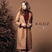 東京著衣【KODZ】歐美部落客質感修身設計大衣外套-S.M(172388)