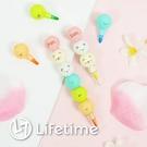 ﹝角落生物球型彩色蠟筆﹞正版 造型筆 蠟筆 彩虹筆 筆 文具 角落小夥伴〖LifeTime一生流行館〗