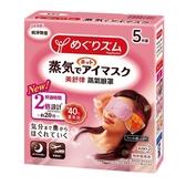 美舒律 蒸氣眼罩 純淨無香5片裝 效期2022.07【淨妍美肌】