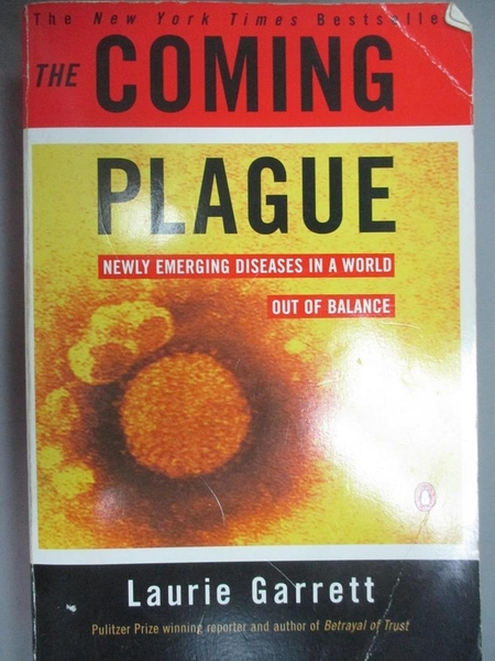 【書寶二手書T1/大學理工醫_XGC】The Coming Plague-Newly Emerging..._Garrett