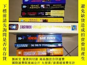 二手書博民逛書店Foundation罕見series 基地系列 全套 共12冊
