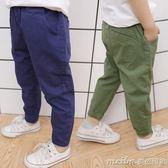 兒童褲子春秋男3-5歲男童寬鬆防蚊褲寶寶夏季薄款小童裝休閒長褲 美芭