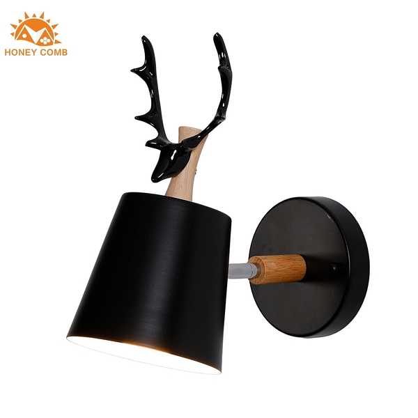 Honey Comb 可愛麋鹿造型壁燈
