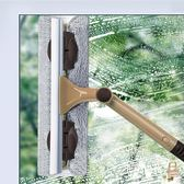 玻璃擦擦玻璃神器家用伸縮桿雙面擦玻璃器高樓玻璃刮搽窗戶清洗刮水工具xw