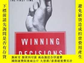 二手書博民逛書店英文原版罕見Winning DecisionsY458736 J. Edward Russo & Pa