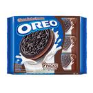 OREO奧利奧巧克力夾心三明治餅乾隨手包(29.4g*9包)/2組【合迷雅好物超級商城】