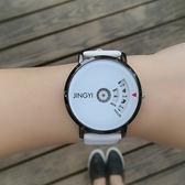 全館免運八九折促銷-韓國ulzzang潮男手錶女學生正韓簡約創意概念風復古情侶一對