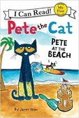 (An I Can Read系列  My First )  PET THE CAT:PETE AT THE BEACH /讀本