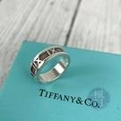 BRAND楓月 TIFFANY&CO. 蒂芬妮 925純銀 羅馬數字 戒指 銀飾 飾品 配件 #51