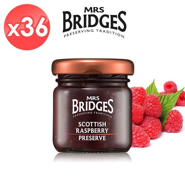 【MRS. BRIDGES】英橋夫人蘇格蘭覆盆莓果醬36入組 (42公克*36入)