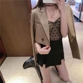 西裝外套小西裝外套女新款韓版chic休閑寬松長袖短款西服氣質上衣秋冬 新年禮物
