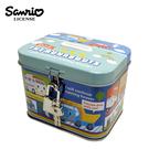 【日本正版】汽車宇宙 方盒 存錢筒 小費盒 收納盒 附鑰匙 可上鎖 三麗鷗 Sanrio - 236356