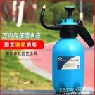 噴霧器噴壺手動氣壓式澆花壺小型噴霧器植物灑水壺霧化器CY『新佰數位屋』