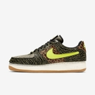 Nike Af 11 [DM5329-200] 男鞋 運動 休閒 豹紋 斑馬 舒適 緩震 彈性 柔軟 魔鬼氈 墨綠