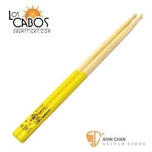 打擊樂器 ► Los Cabos 5AYJ 白胡桃木 黃色防滑鼓棒 加拿大製 5A 【5A Yellow Jacket】