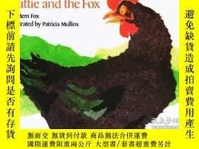 二手書博民逛書店英文原版繪本罕見Hattie and the Fox 海蒂與狐狸