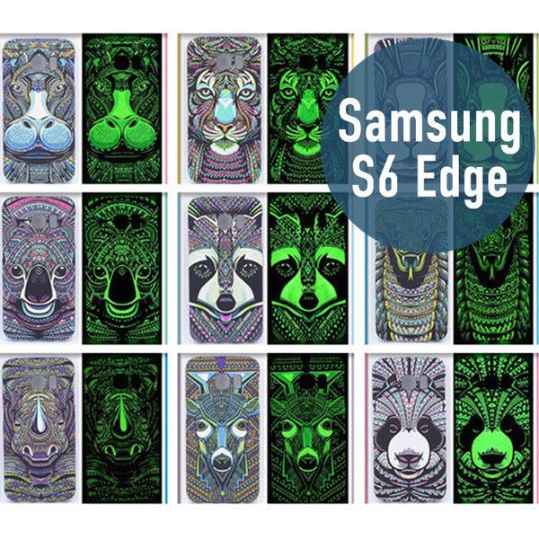 SAMSUNG 三星 S6 Edge 王者之風二代 夜光 PC 硬殼 手機套 手機殼 保護套 保護殼 外殼