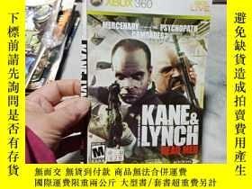 二手書博民逛書店遊戲光盤罕見XBOX 360 KANE&LYNCH ( 光盤編號