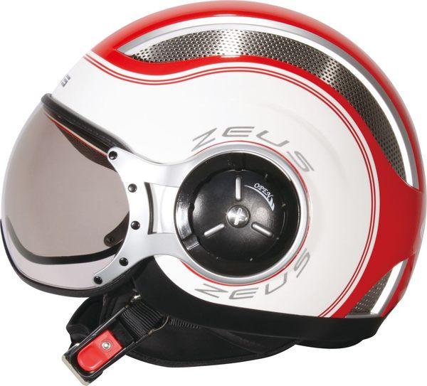 ZEUS瑞獅安全帽,ZS218,SS6/紅白