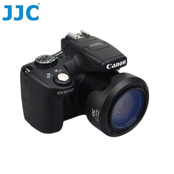 又敗家@JJC副廠Canon遮光罩LH-DC60太陽罩佳能SX60HS SX50HS SX40HS SX30 SX20 SX10 SX1 SX530 SX520