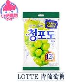 現貨 快速出貨【小麥購物】LOTTE 青葡萄果汁糖 糖果 軟糖 葡萄糖 果汁糖 【A246】