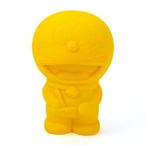 《CHARA PORT》Penke-Penke 哆啦A夢造型炫彩矽膠筆袋(元氣黃)★funbox生活用品★ CP99045