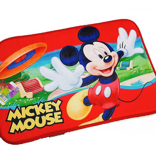 迪士尼米奇地墊浴室腳踏墊飛盤385389通販屋