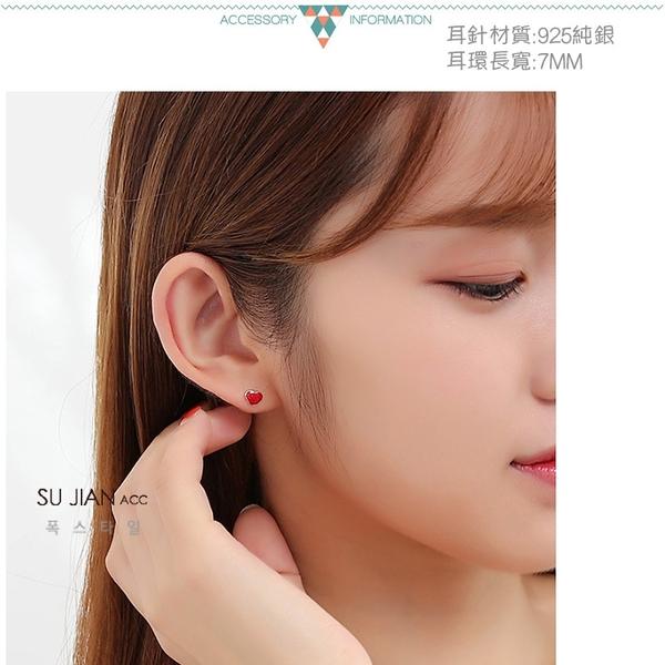 素簡手作《ES072》正白k~耳環 珍珠耳環 蝴蝶結耳環 韓劇耳環 愛心耳環 花朵耳環 純銀耳針