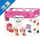 哈根達斯 迷你杯甜蜜水果四入組 (100ml*4入/   盒)【愛買冷凍】
