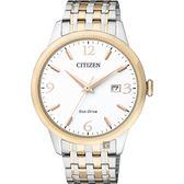 【CITIZEN 星辰】光動能紳士手錶-雙色版/40mm BM7304-59A