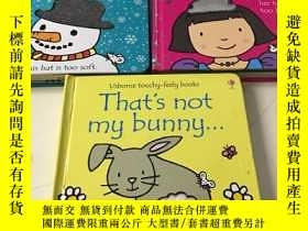 二手書博民逛書店Usborne罕見Touchy-Feely BooksY2347