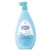 Bebble貝朵 新生兒植萃洗髮/沐浴露(二合一)400ml