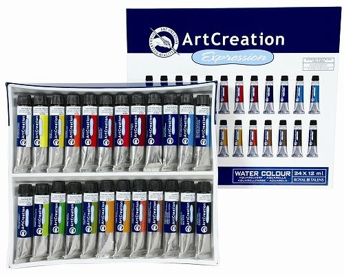 梵谷系列 Royal Talens Art Creation 水彩顏料 24入12 ml