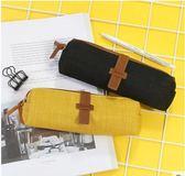 學生筆袋棉麻創意間約女生文具鉛筆袋 隨身收納手包袋K-shoes