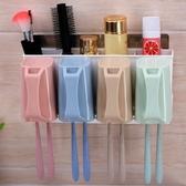 免打孔牙刷架套裝衛生間洗漱牙刷置物架壁掛漱口刷牙杯浴室收納架