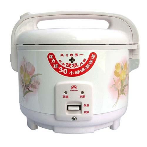 三年保固的電子鍋 ★【萬國牌】 10人份電子鍋(NS-1807)採用日本溫度感應零件★