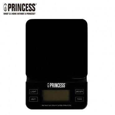 PRINCESS荷蘭公主三段式觸控電子料理秤(黑)TPRES31B