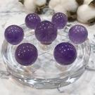 『晶鑽水晶』巴西紫水晶七星陣/盤 21x26mm 直徑10公分盤 開發智慧.平穩思緒