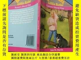 二手書博民逛書店babysitters罕見little sister:保姆妹妹.Y200392