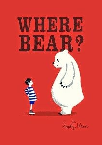 【麥克書店WHERE BEAR? /英文繪本