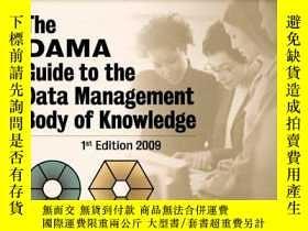 二手書博民逛書店The罕見Dama Guide To The Data Management Body Of Knowledge
