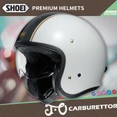 [安信騎士] 日本 SHOEI J.O 彩繪 CARBURETTOR TC-6 白黑 半罩 安全帽 復古帽
