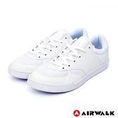 【AIRWALK】輕騎兵休閒滑板鞋-白色-男