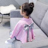 女童襯衫 春裝2018新款韓版兒童襯衣