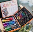 小學生美術工具無毒水彩筆蠟筆繪畫套裝女孩150支  176支(w~)