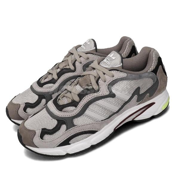 【四折特賣】adidas 休閒鞋 Temper Run 咖啡 灰 男鞋 麂皮 復古 運動鞋 【PUMP306】 G27920