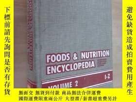 二手書博民逛書店英文書罕見FOODS & NUTRITION ENCYCLOPEDIA 食物營養百科全書 硬精裝 詳見圖片Y1