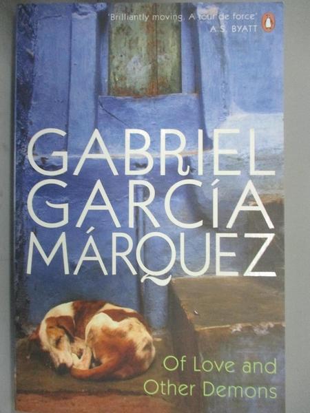 【書寶二手書T4/原文小說_GPB】Of Love And Other Demons_Gabriel Garcia Marquez